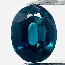 Echter Blauer Ovaler Saphir 1.64ct 8x6.5mm
