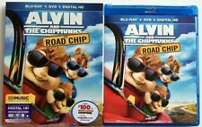 ALVIN AND THE CHIPMUNKS THE ROAD CHIP BLU RAY 1 DISC ONLY + SLIPCOVER SLEEVE