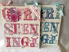 Christening Gift Bag With Free Tissue Paper Or Christening Paper & Tag Free Bow