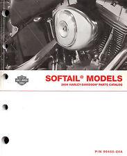 2004 Harley-Davidson Softail Models Parts Catalog Manual -Flstf-Fxstb-Fxst-Flstc