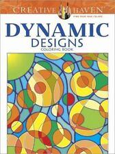 Creative Haven Dynamic Designs Coloring Book by Jennifer Lynn Bishop (2014,...