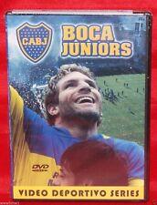 BOCA JUNIORS VIDEO DEPORTIVO SERIES ARGENTINA 100 YEARS OF HISTORY DVD NEW