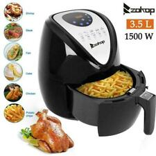3.5L Digital LCD Air Fryer Cooker Oven Low Fat Healthy Fat-Free Food Frying New