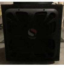 "KICKER L7 15"" SUBWOOFER AND AMP"