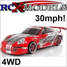 Fast RC Race/Drift Car Radio/Remote Controlled Electric Ver of Nitro/Petrol 1/10