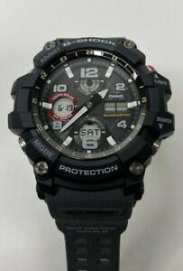 Casio G-Shock Master Of G Series Mudmaster Grey Resin GSG100-1A8 Black Dial Mens