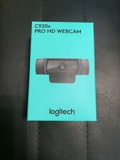 Logitech C920X Pro HD 1080p Webcam - Black - IN HAND - Ships Fast