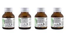 KIT Dimagrimento URTO Metabolismo+Appetito Fucus+Te Verde+Glucomannano 4 pezzi