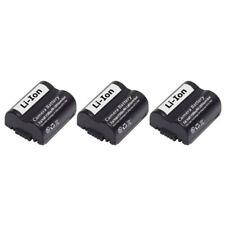 Fits Panasonic CGR-S006A/1B Li-ion Camera Battery - 700mAh / 7.4v (3 Pack)
