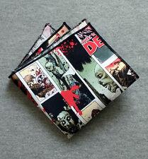 The Walking Dead Comic Pocket Square Wedding Formal Tux Prom Handkerchief