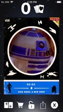 Topps Star Wars Digital Card Trader Blue ANH Retro Rewind R2-D2 Insert