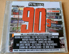 Punk Goes 90s 2 Covers of Tracks Green Day Bush + Sampler Brand New Sealed 2CD