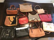 Designer Purse And Handbag Lot Dooney Coach Steve Madden Fossil And More!!