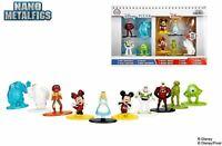 Disney Nano Metalfigs Disney & Disney Pixar Mini Figuras (10 Paquete)