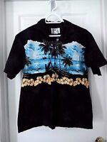 KY'S Hawaiian Tropical Print Shirt-size M   Made in Hawaii!