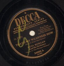 Russ Morgan on 78 rpm Decca – lot of 15 records