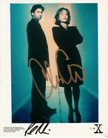 Chris Carter autographed signed autograph X-Files 8x10 color publicity photo COA