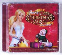 Barbie - A Christmas Carol Soundtrack (CD) • NEW • Holiday