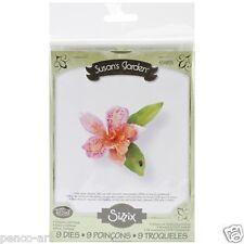 Sizzix Thinlits Die Set of 9 Susan's garden Flower, Cattleya Item 658855