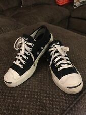 0d7b9be4b4f251 Jack Purcell Converse Black Canvas Shoes Mens US 5.5 Womens 7 UK 5