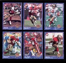 1993 CE San Francisco 49ers Set JERRY RICE STEVE YOUNG JOHN TAYLOR TOM RATHMAN