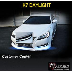 Day Light Fog Lamp LED + Cover Assembly 2p for 2010 2013 Kia Cadenza K7