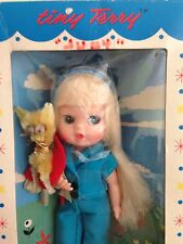 1966 Jointed Blonde Tiny Terry Doll Nrfb My Toy Japan