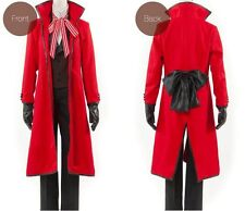 Black Butler Shinigam Grell Sutcliff cosplay costume Male size Medium in stock