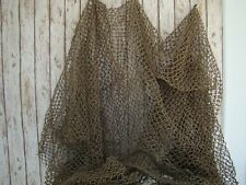 Authentic Used Fishing Net ~12'x12' Heavy~ Old Reclaimed Recycled Fish Netting