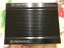 AMPLIFICATORE PER AUTO - PIONEER GM-3400 - 80w x4