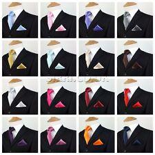 63b6019faaa3 Kid Children Boys Premium Satin Tie Hanky Handkerchief Pocket Square Gift Set  UK