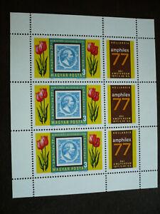 Stamps - Hungary - Scott# 2487 - Souvenir Sheet