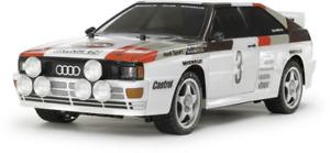 Tamiya TT-02 Audi Quattro Rally Brushed 1:10 RC Modellauto Elektro Straßenmodell