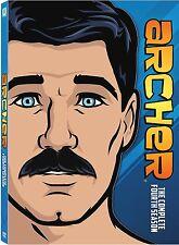 ARCHER : THE COMPLETE SEASON 4   -  DVD - REGION 1 - Sealed