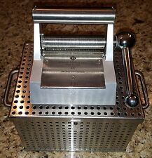 Brennen 2:1 Bioplasty Skin Graft Surgical Mesher w/ Autoclave Container