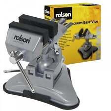 Rolson 60mm en aluminium de base pour aspirateur vice 180 degrés d'inclinaison 360 rotation nylon jaws