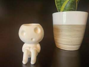 Kodama Tree Spirit Planter Pot for Succulents, Air Plants, Other / Tree Guardian