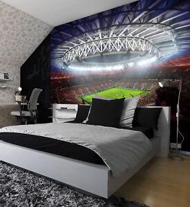 FIFA Football Stadium Pitch Sport Wall Mural Photo Wallpaper Kids Game Home su