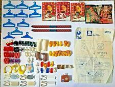 Vintage Pedigree Sindy Shoes Bags Hangers Catalogue Accessories Bundle - Barbie