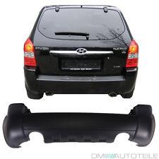 Hyundai Tucson JM Heck Stoßstange hinten für 2 Auspuffrohre ABS Kunststoff 04-10