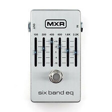MXR M109S 6-Band Graphic EQ Guitar Effects Pedal +Picks