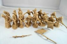 "TSSD08 ""WWII Japanese Infantry (Tan)"" 54mm Plastic Toy Soldiers"