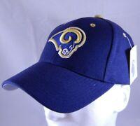 Los Angeles Rams Blue Adjustable Ball Cap NFL Hat St Louis LA Football