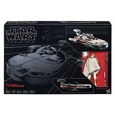 Star Wars Black Series 6 in (approx. 15.24 cm) Luke Skywalkers X-34 Landspeeder-Nuevo en la acción