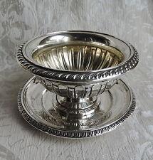 Salsiera Coppa Svedese (Sheffield), 1920 Såskanna i Nysilver G.A.B.