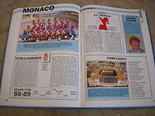 FOOTBALL COUPURE LIVRE PHOTO MRBT34 20x10 D1 AS MONACO 1988/1989