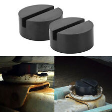 2 Negro Coche Caucho Elevación Almohadilla Herramienta Hockey Disco Clavija