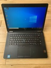 Dell Latitude E7470 Ultrabook i7 6600U 256GB SSD 16GB Win 10 FHD High Spec
