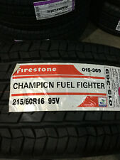 1 New 215 60 16 Firestone Champion Fuel Fighter Tire