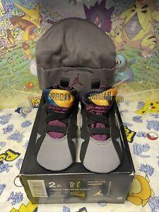 Nike Air Jordan VII 7 Bordeaux 2015 Retro Crib BT TD Toddler 305076-034 sz 2C